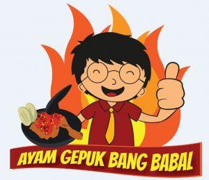 Desain Logo Ayam Gepuk Bang Babal