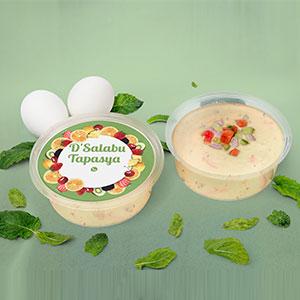 Desain Stiker Salad